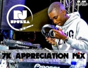 Dj Spuzza - 7k Appreciation Afro House Mix